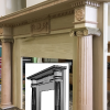 Nixon Presidential Library fireplace built from CarveTech 3D scanned and CNC reproduced parts. To be faux painted to look like marble.